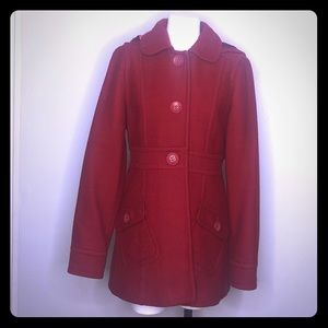 BP Red Coat * Size Large * GUC * Removable hood